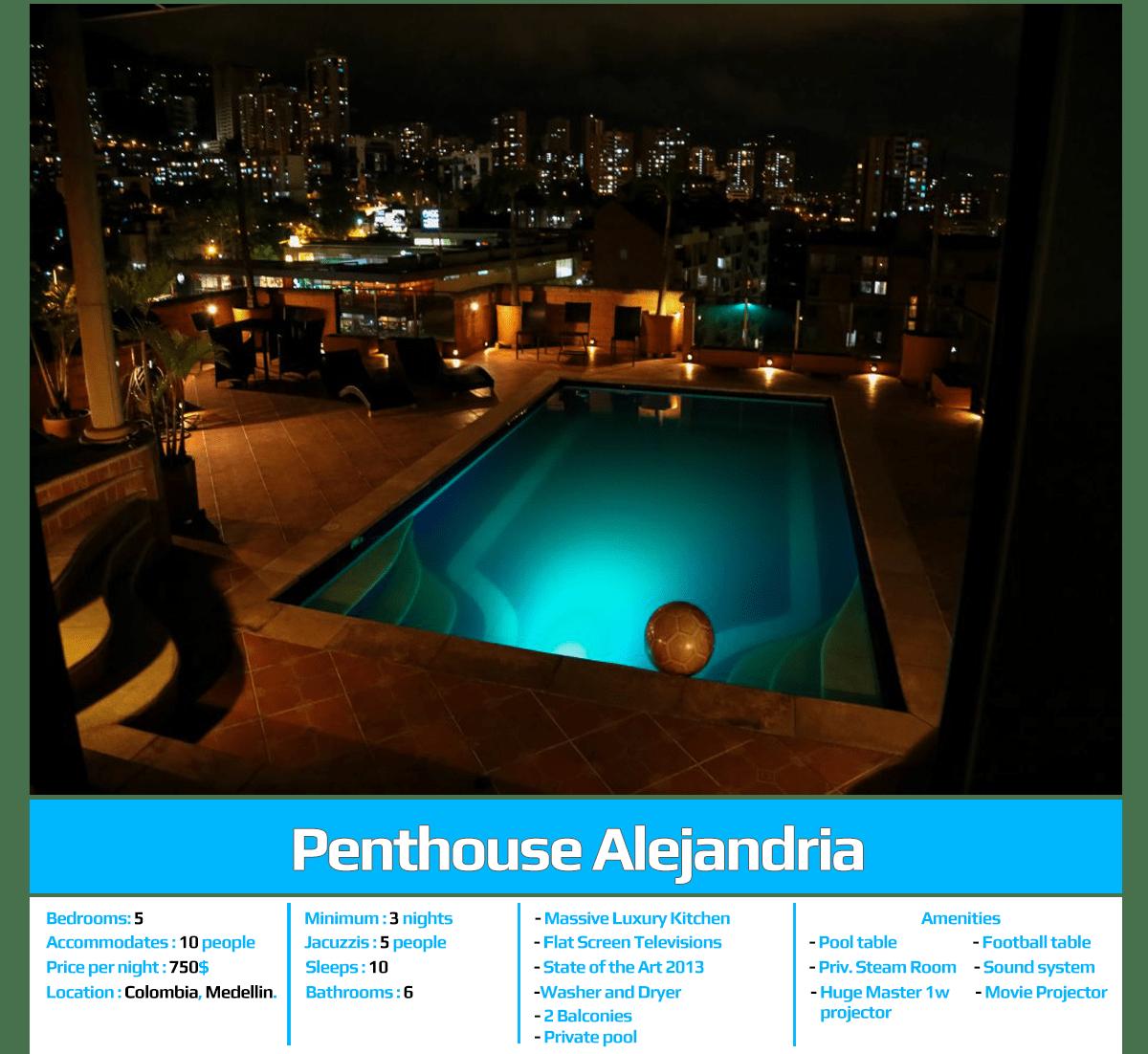 penthouse alejandria